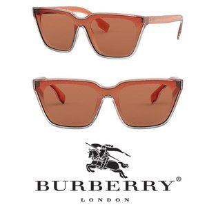 Burberry Brown Square 55mm Sunglasses